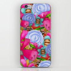 Electric Garden iPhone & iPod Skin