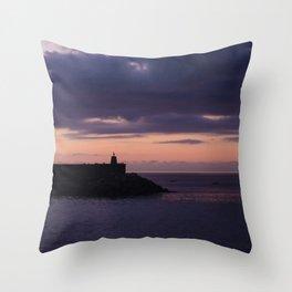 Deba sunset Throw Pillow