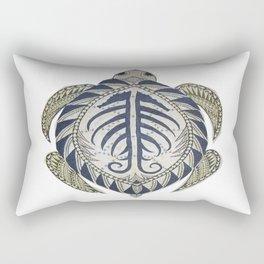 Sea Turtle cutout Rectangular Pillow