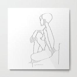 attractors : nudes Metal Print