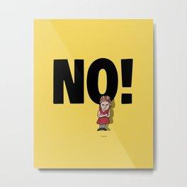 No! no.5 Metal Print
