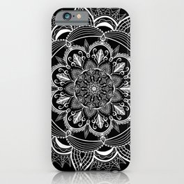 Gothic White Space iPhone Case