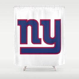 NYG Logo Shower Curtain