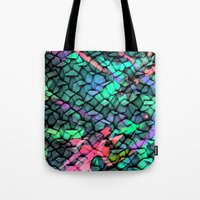 quilt Tote Bags featuring Quilt by Simona Sacchi