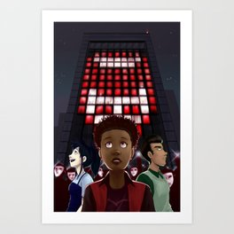 The Psions cover Art Print
