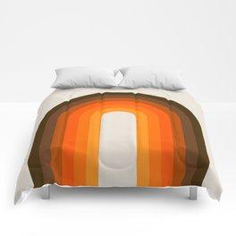 Golden Rainbow Comforters