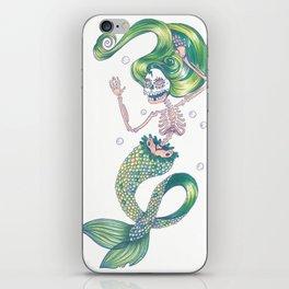 Green Lady Slumber iPhone Skin