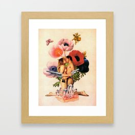 It Ends with a Bang! Framed Art Print