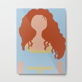 Merida - Brave - Minimalist 2 Metal Print