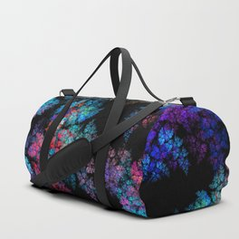 Fractal leaves Duffle Bag