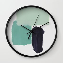 color & shape 02 Wall Clock