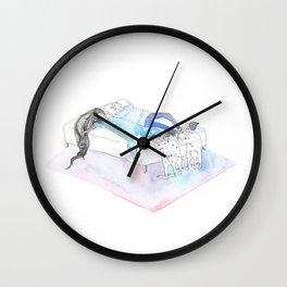 Foot Massage Elves Wall Clock
