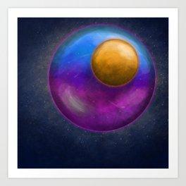 Planetary Art Print