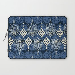 lotus diamond indigo Laptop Sleeve