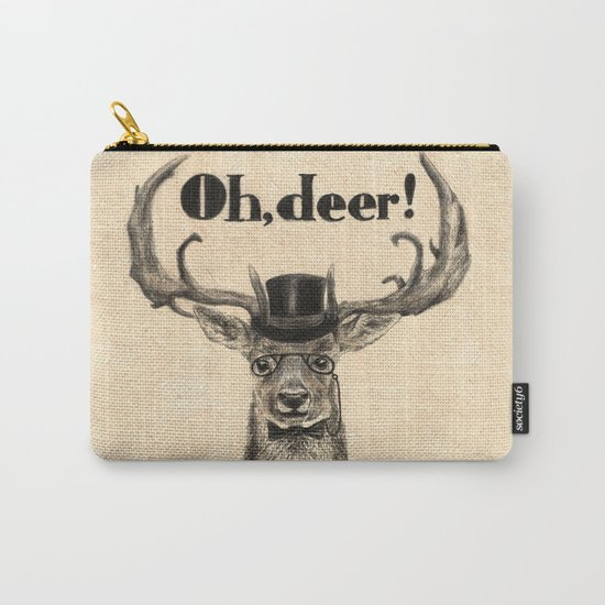 Oh, deer me! Carry-All Pouch