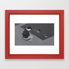 Freelancer Framed Art Print