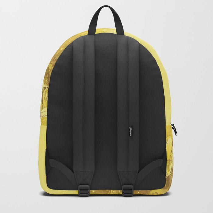 Mountains Yellow Backpack