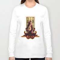 orchid Long Sleeve T-shirts featuring ORCHID by Lorena Carvalho