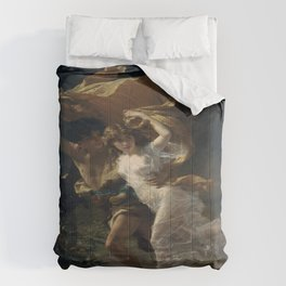 Pierre Auguste Cot's The Storm Comforters