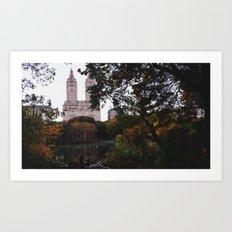 Central Park Fall Series 1 Art Print