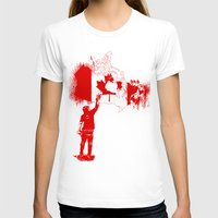 canada T-shirts featuring Canada Tagger by Kris alan apparel