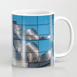 Reflection of Guggemheim Coffee Mug