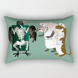 Animal´s hospital (GREFA) Rectangular Pillow