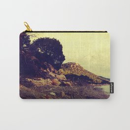 Vintage lake beach Carry-All Pouch