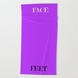 Let's Face It! Color Therapy Towels - Cleanse Beach Towel