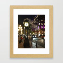 Gastown Framed Art Print