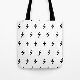 Lightning Bolt Pattern Tote Bag