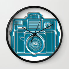I Still Shoot Film Camera Logo Wall Clock