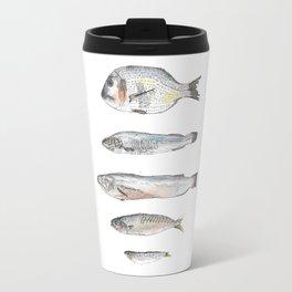 fish dish Travel Mug