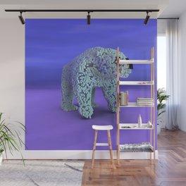 Ice Cube Bear Wall Mural
