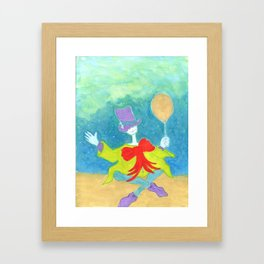 The Cryptid Carnival Framed Art Print
