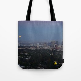 LA Full Moon Tote Bag