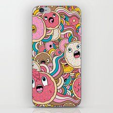 Donut Doodle iPhone & iPod Skin