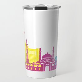 Astana skyline pop Travel Mug