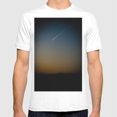 Dusk Mens Fitted Tee MEDIUM White