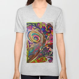 A Bunch of Flowers Unisex V-Neck
