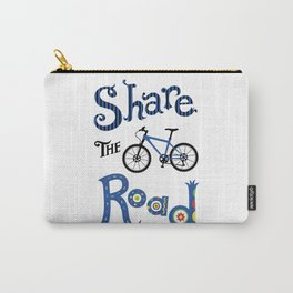 Share the Road Carry-All Pouch