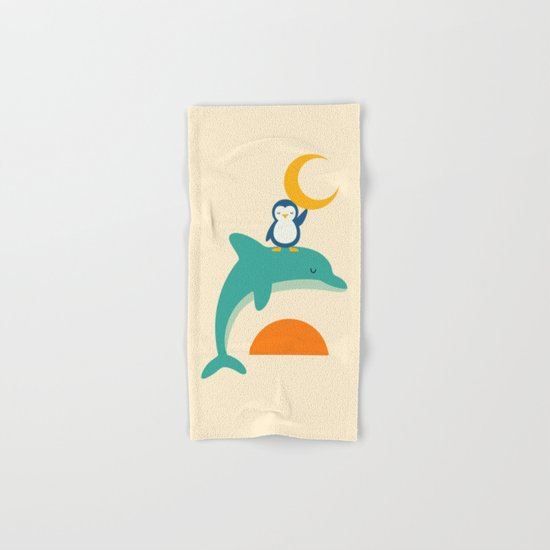 Cherish Time Hand & Bath Towel