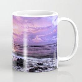 Purple Sunrise, Poipu Beach, Kauai, Hawaii Coffee Mug