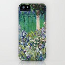 Monet's Door — Giverny, France iPhone Case