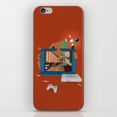 Horror Game iPhone & iPod Skin