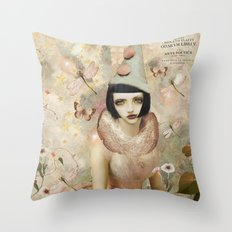 Whimsy my friend. Throw Pillow