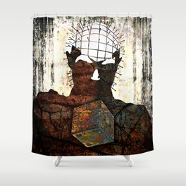 021 Hell Shower Curtain