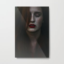 Dark freckle Metal Print
