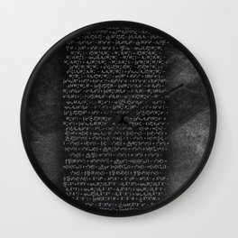 the Closest Thing We Have to a Master Equation of the Universe Wall Clock