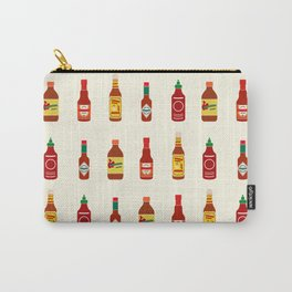Hot Sauces Carry-All Pouch